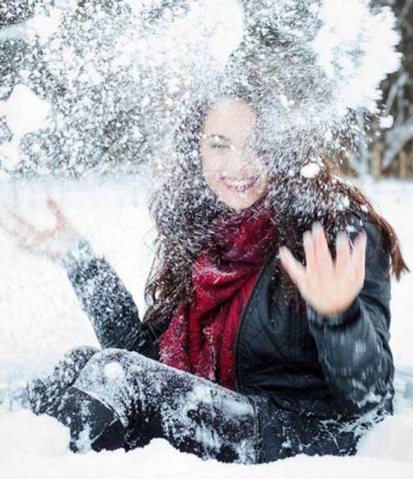 پروفایل دخترانه شیک و زیبای زمستان