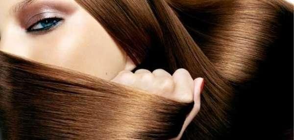 براق و درخشان شدن مو