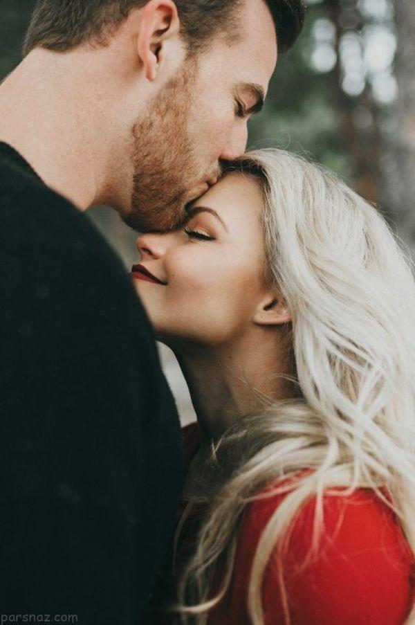 عکس پروفایل بوسه های عاشقانه
