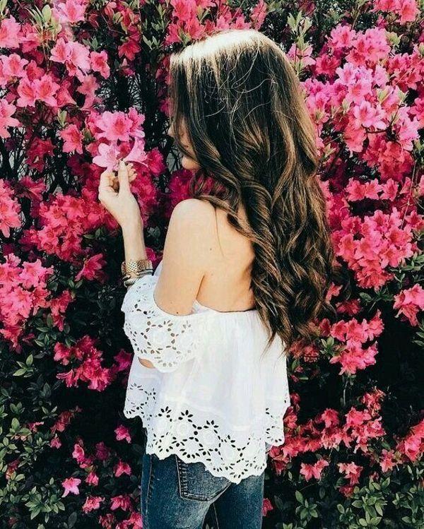 عکس پروفایل دخترانه فصل بهار
