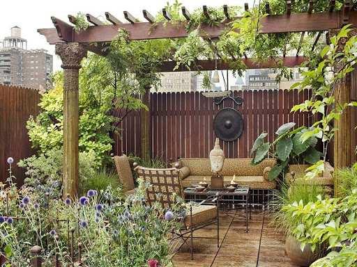 ساخت باغچه در آپارتمان باغچه های کوچک آپارتمانی