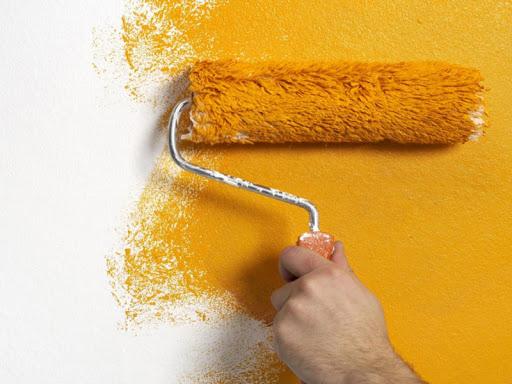 روش ترمیم رنگ دیوار