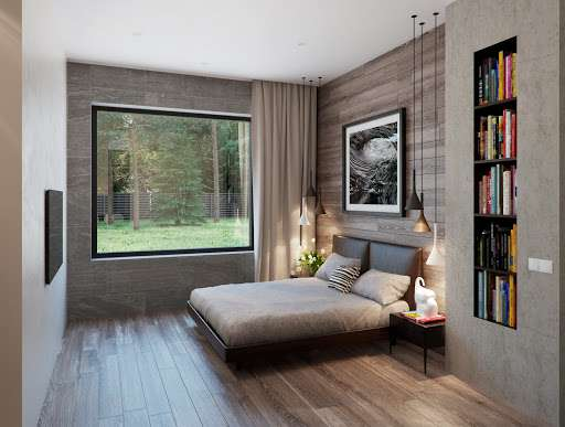 دکوراسیون اتاق خواب مدرن وشیک