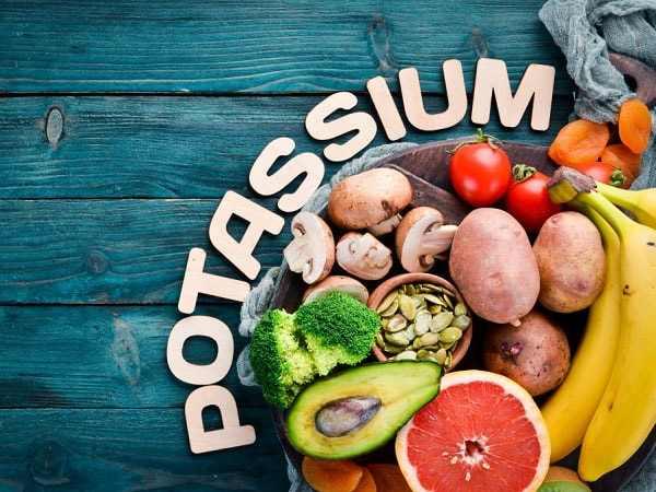 کاربرد و خواص پتاسیم برای سلامتی بدن، منابع پتاسیم