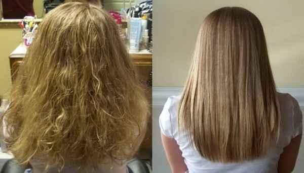 چگونه موهای صاف و بدون وز داشته باشیم