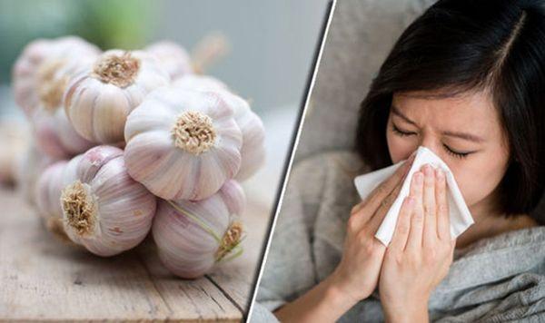 خواص سیر برای سرماخوردگی