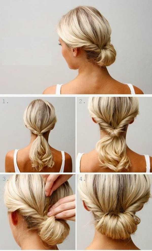 آموزش تصویری بافت موی کوتاه دخترانه، مدل بافت مو کوتاه