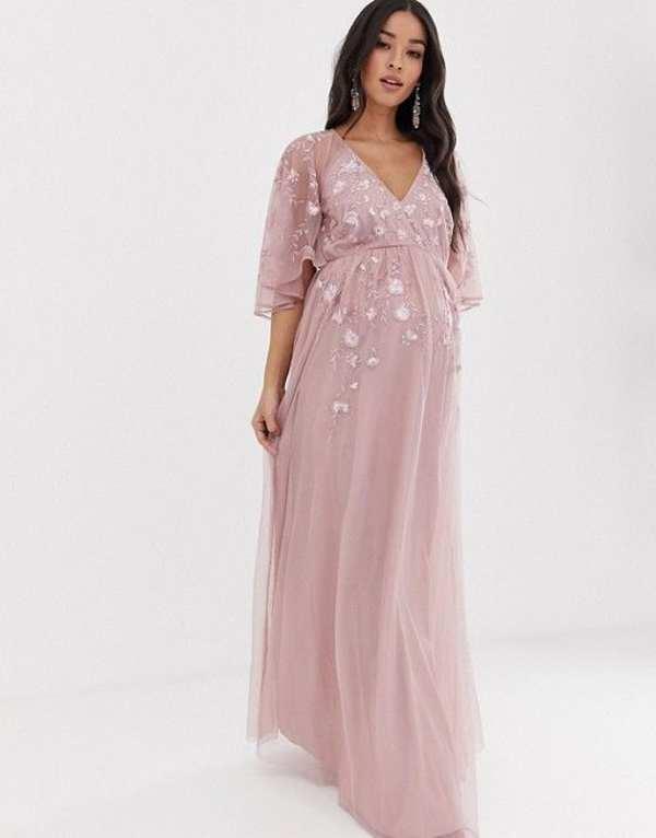 انواع مدل لباس بارداری شیک بلند و کوتاه