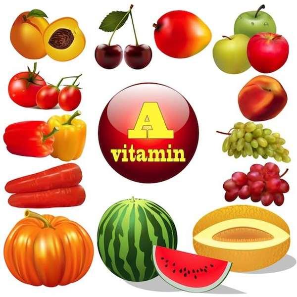 نقش ویتامین A (آ) در بدنسازی